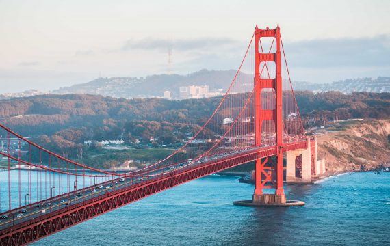 Golden Gate Bridge from Battery Spencer Viewpoint